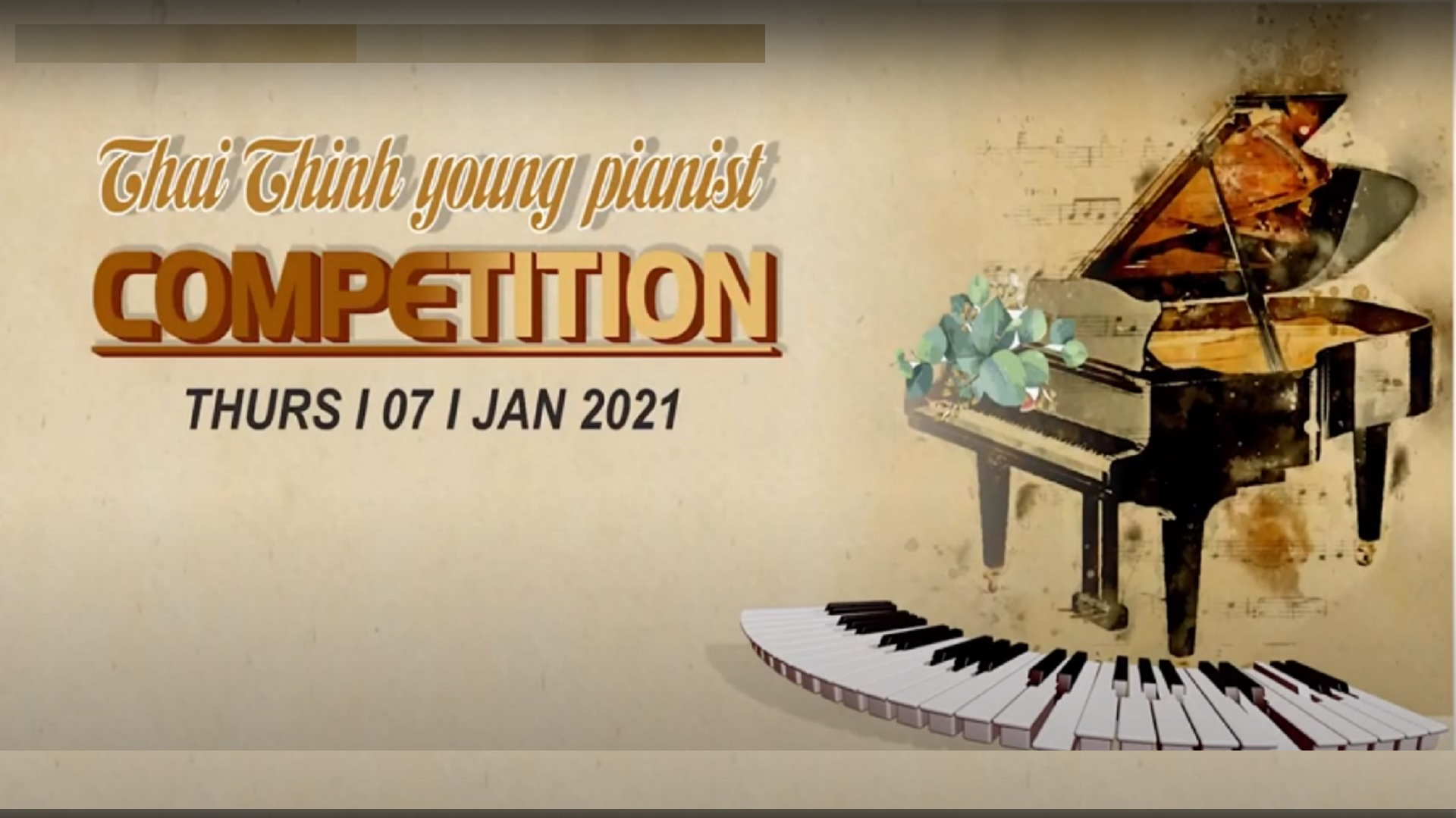 THAI THINH YOUNG PIANIST COMPETITION