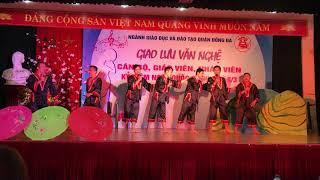 Tiết mục văn nghệ của các Thầy Cô trường THCS Thái Thịnh để lại nhiều cảm xúc!