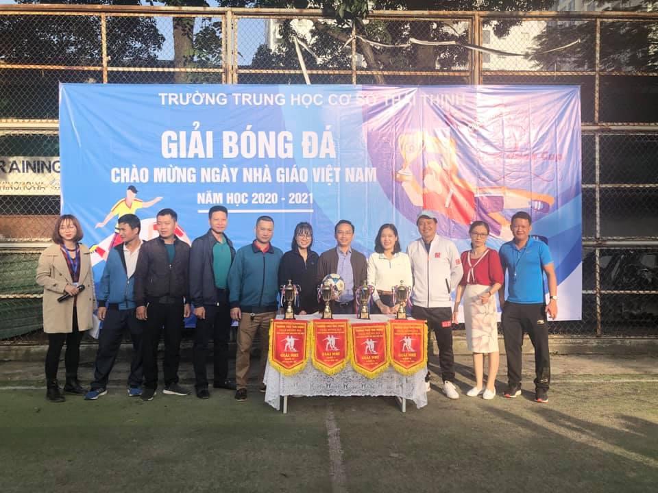 Giải Bóng Đá Chào Mừng Ngày Nhà Giáo Việt Nam