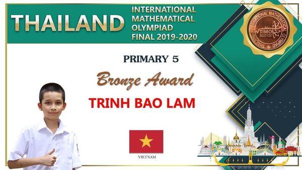Vòng chung kết Olympic Toán quốc tế Thái Lan, TIMO 2020