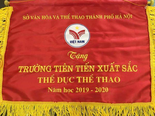 Thành Tích Thể Dục Thể Thao năm học 2019-2020