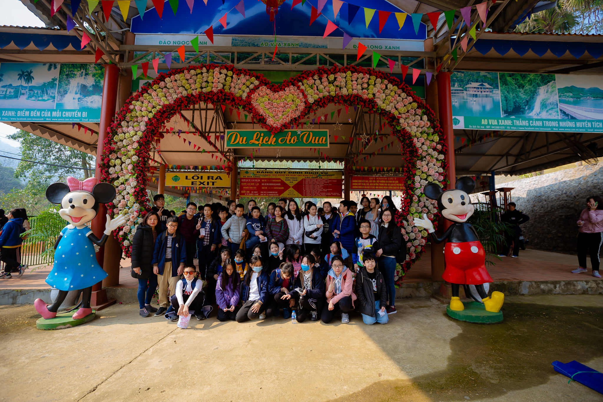 Hoạt động trải nghiệm ngoại khóa K9 - Đá Chông và Khu du lịch Ao vua