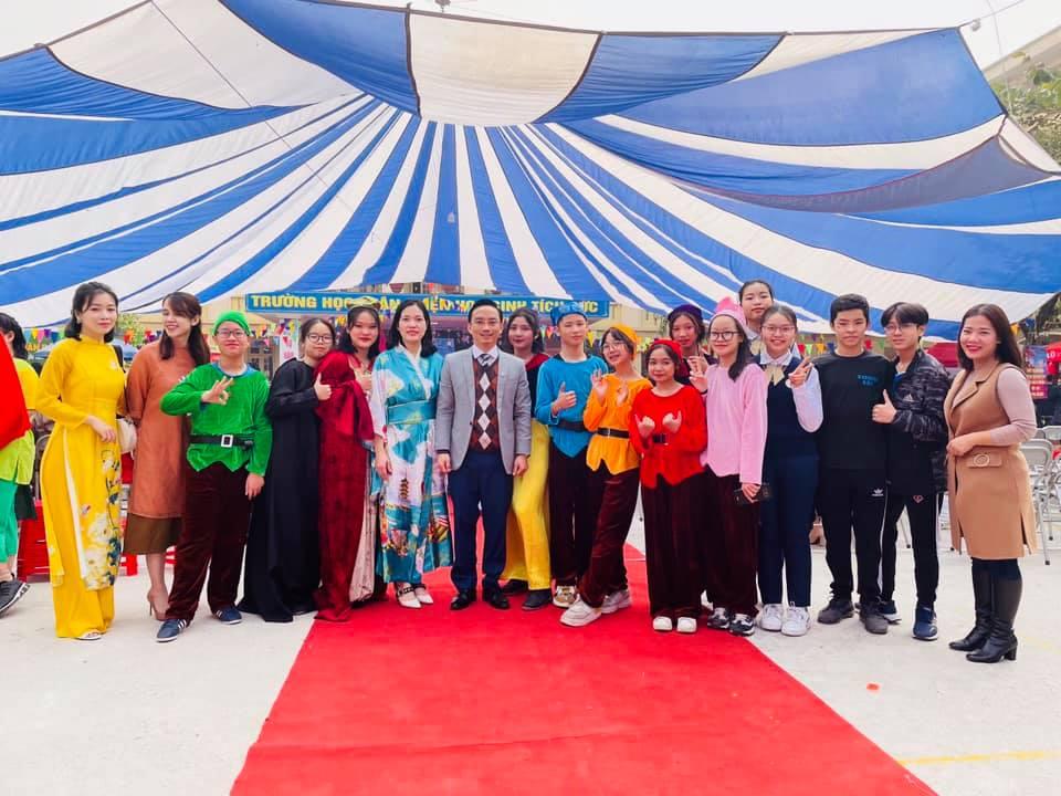 Lễ hội giao lưu văn hoá Việt - Nhật cấp THCS lần thứ ba