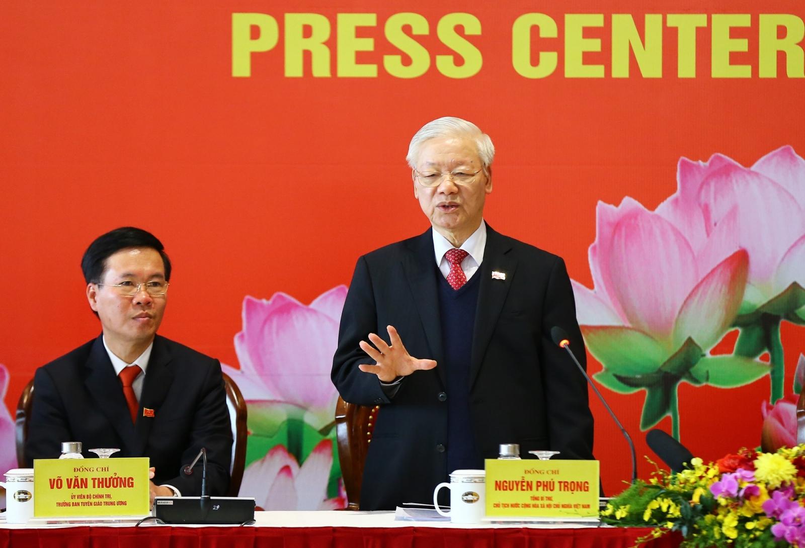 Tổng Bí thư, Chủ tịch nước Nguyễn Phú Trọng: Đại hội XIII đã rất thành công