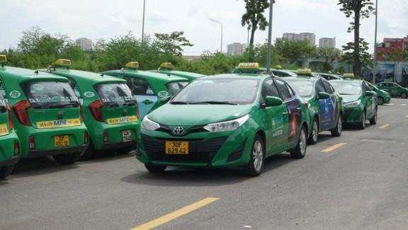 200 xe taxi Mai Linh được phép hoạt động trong thời gian Hà Nội giãn cách xã hội