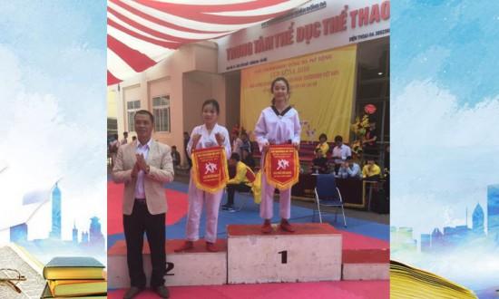 Thành tích thể thao của học sinh trường THCS Thái Thịnh năm học 2016-2017