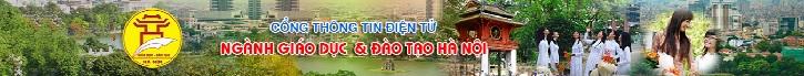 Sở GD&ĐT Thành Phố Hà Nội